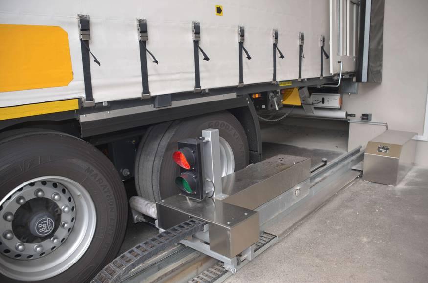 Cale automatique de camion ARRIMATIC