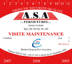 Visite maintenance